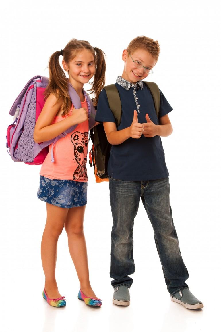 Vælg den rette skoletaske